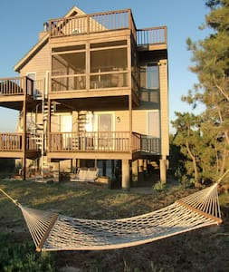 Waterfront beach home-Delaware Bay - Milford - Talo