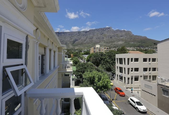 Balcony view of Table Mountain