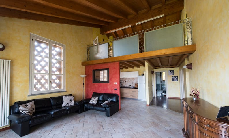 Romantico cascinale  15' da Milano - San Giuliano Milanese - Apartemen