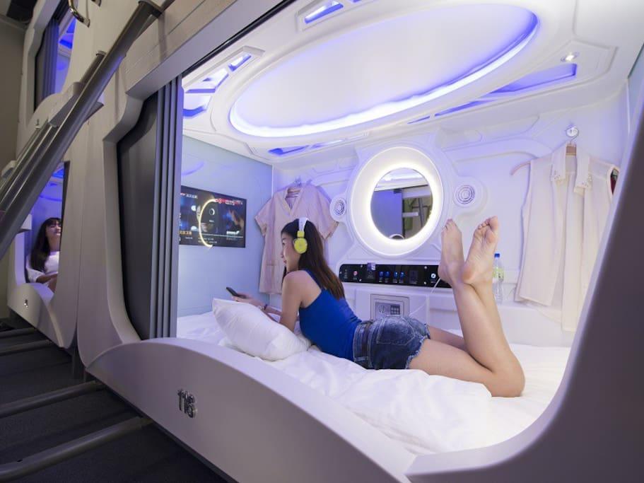 Time Capsule Hotel Dorms For Rent In Pulau Pinang Pulau