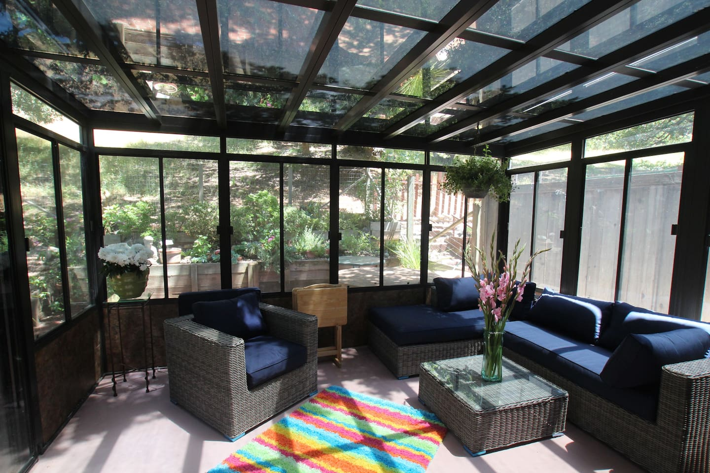 Gardenview Townhome, with mainfloor Sunroom off the kitchen especially nice April-October