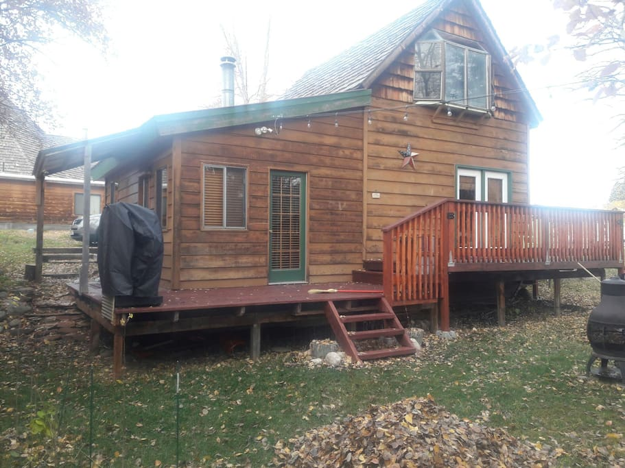 Tp creek side cabin chalet in affitto a alta wyoming for Noleggio cabina dells wisconsin
