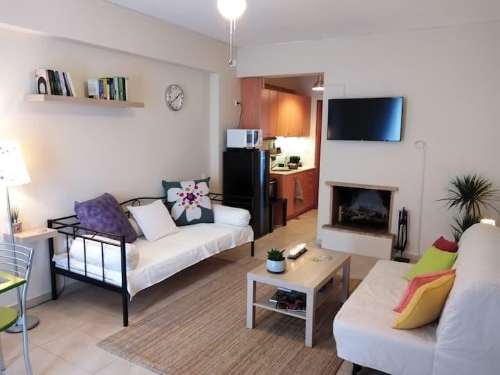 """Aloe"" apartment in Askeli"