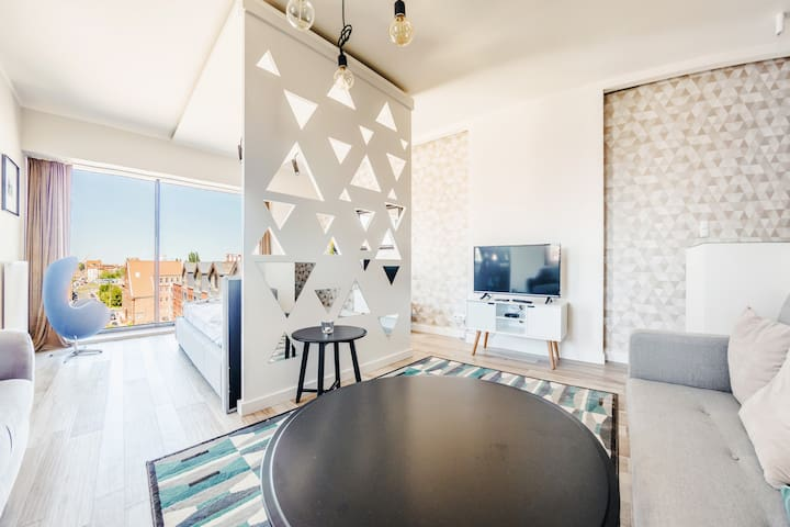 Studio Apartment with river view Granary Island