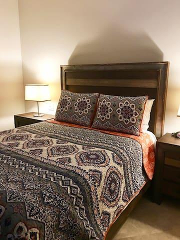 Luxurious new bedding