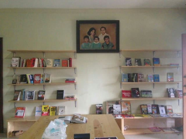 our tiny library