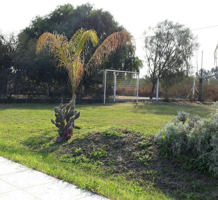 CANCHITA DE FOOTBALL....PILETA SOLARIUM...TRANQUILIDAD...RELAX