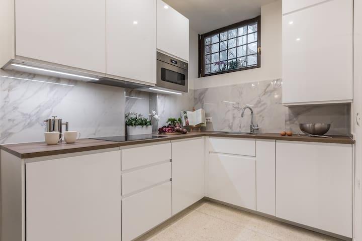 Kitchen, ground floor