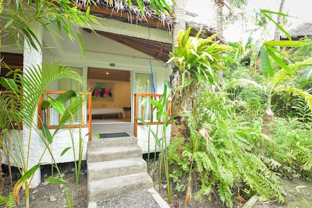 Bamboo Bungalows Rest House (AC2) by White Beach