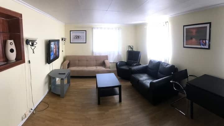 Koselig leilighet i Haugesund