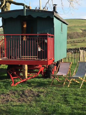 Rural Shepherds Hut Peak District - Buxton  - Dom