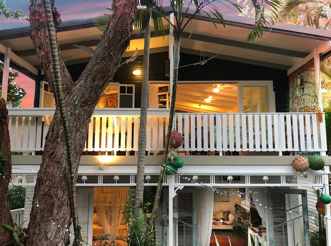 The Artists' Treehouse, celebrating tropical living