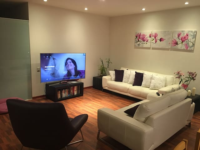 Huge private room in SantaFe, 1 block to a mall