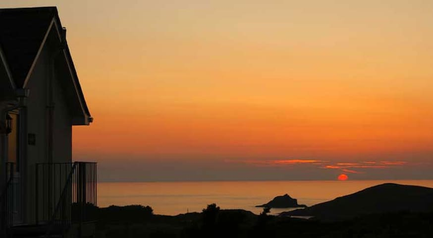 Apartment with stunning sea views - Crantock - Appartement