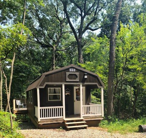 Gezellige hut bij Coppertop Barn