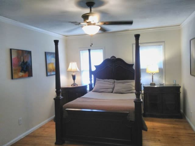 Master Bedroom in a great location.