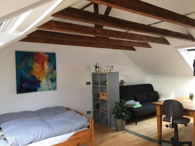 Großes, freundliches Zimmer im Kölner Norden