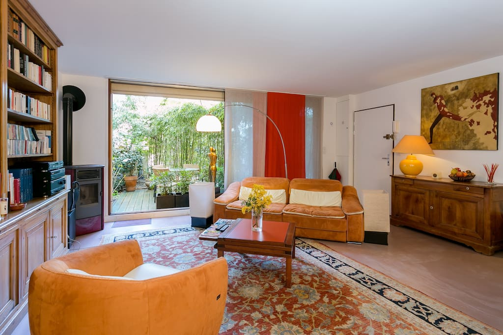 duplex terrasse proche montparnasse appartements louer paris le de france france. Black Bedroom Furniture Sets. Home Design Ideas