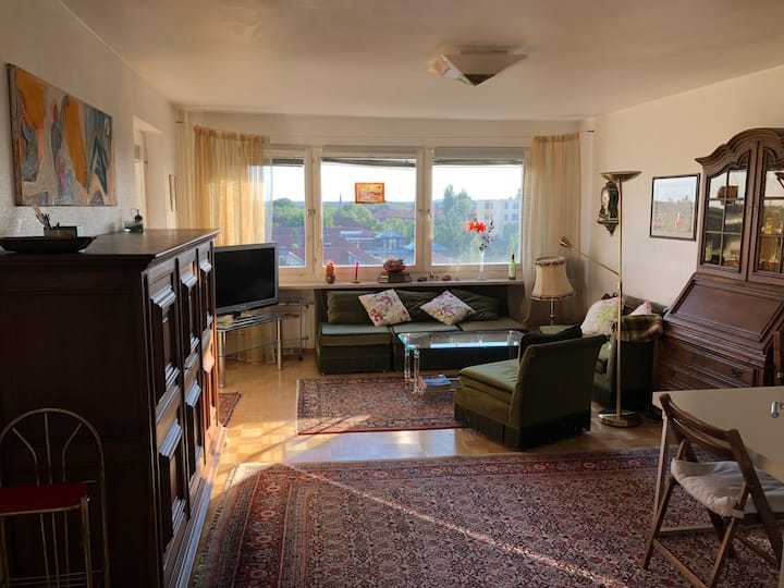 Cozy 2-room, 66 sqm, great view, fully equipped!