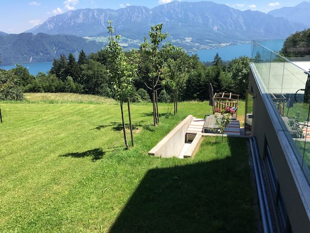 Perfect view into salzkammergut