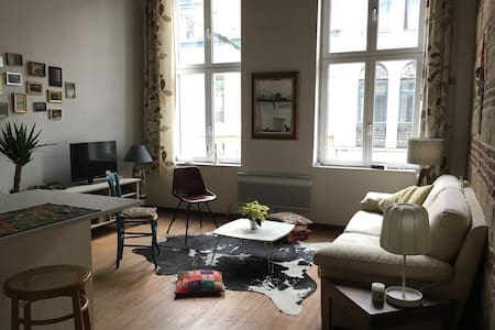 lovely flat, nice location Vieux-lille / free wifi - Lille
