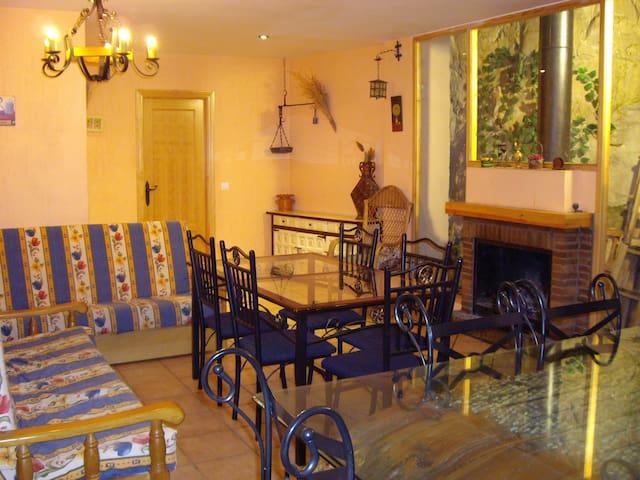Casa rural en la Hoz del Huecar, a 6 km de Cuenca