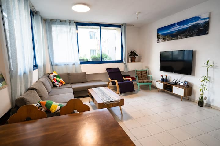 A REAL Home Right In The Center of Tel Aviv!