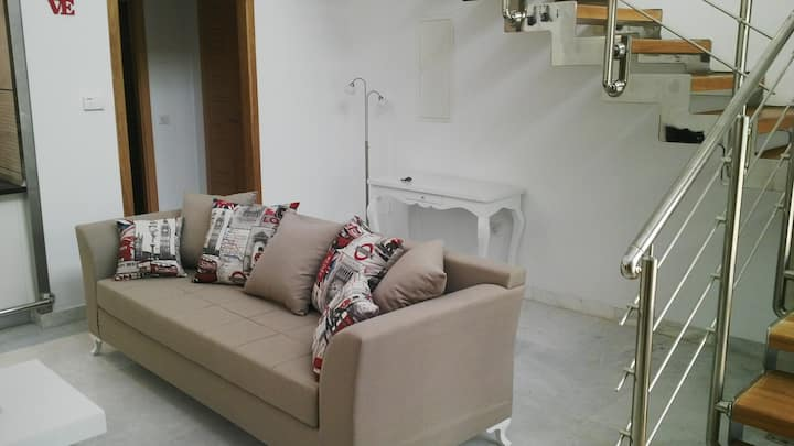 New high standing furnished loft