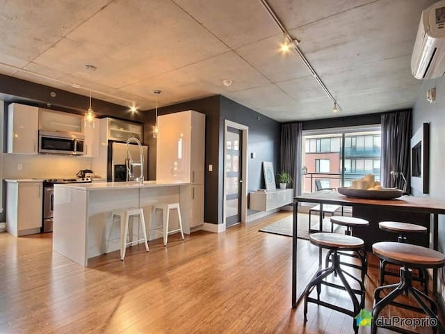 Brand new condo - Best location in Montreal