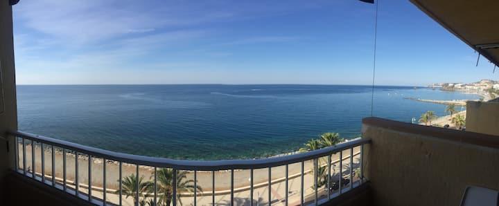 Panoramic sea view + comfy + WiFi