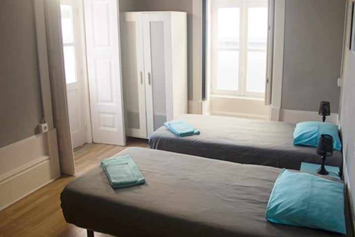 Twin/ double room at Watermark Surf House