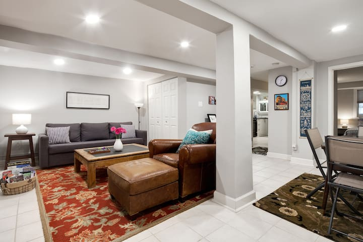 Cozy & Spacious 1 BR Bsmt Apt Across from Natl Zoo