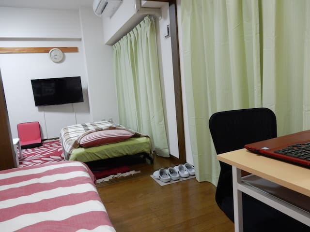 【2K1 Room charter!】Tohoku University Hospital near