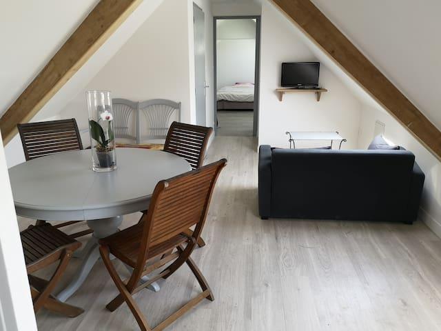 Appartement aménagé à la campagne - Saint-Domineuc