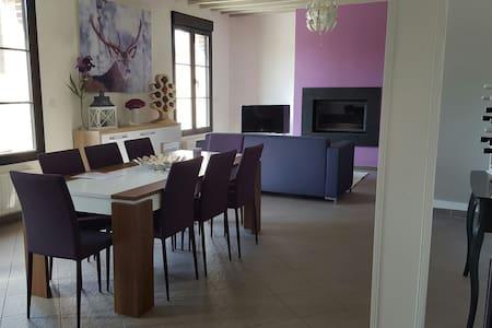 Maison de charme idéalement située en Normandie - Pitres - Haus