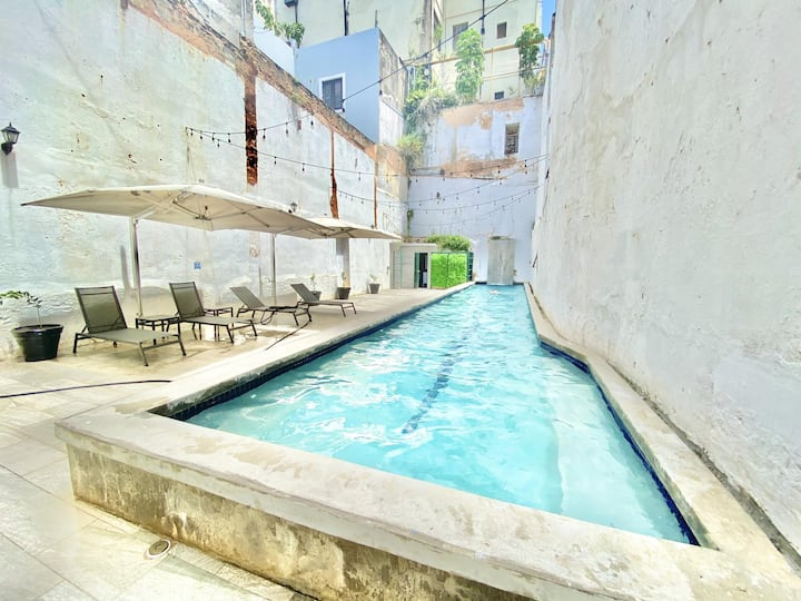 8 Suites for 24 Pool Terrace Historic Space like no other in Puerto Rico