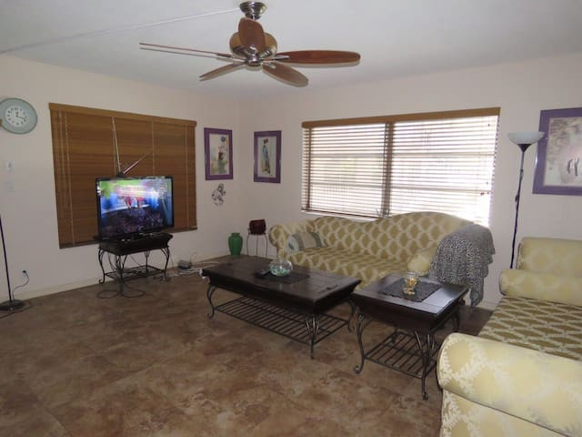 Lovely private bedroom - Lauderdale Lakes - Apartamento