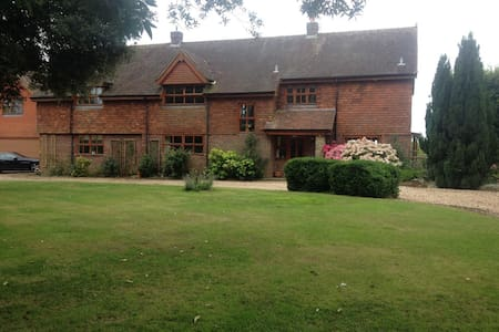Double room B&B close to Goodwood Hotel - Strettington - House