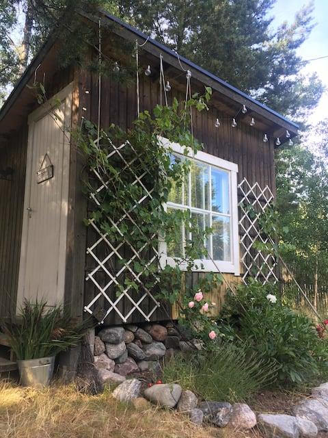 Boho Garden Cabin