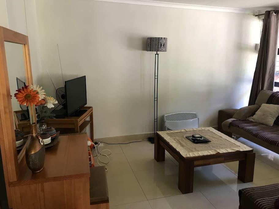 Living Room (TV - DStv optional)