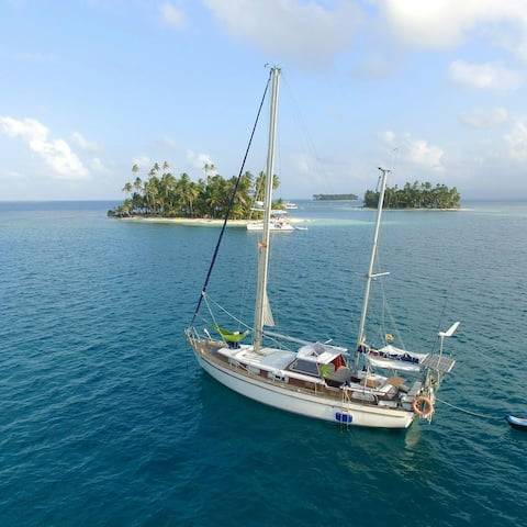 Sailing boat classic  San Blas/Panamá all included