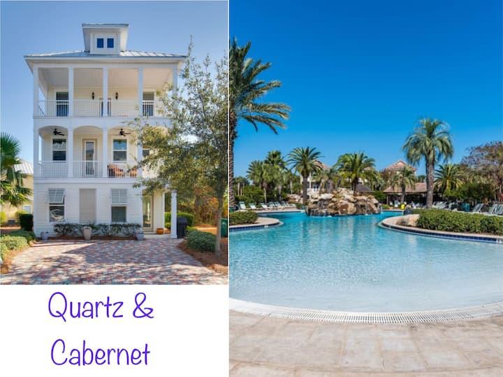 Quartz&Cabernet (4story-6bd-4bth-3450sq ft)