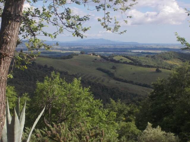 Casa Lagi Tatti ; Toscana - Tatti - Leilighet