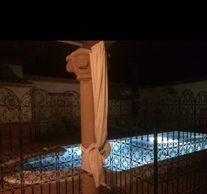 Casa Rural Brovales con piscina