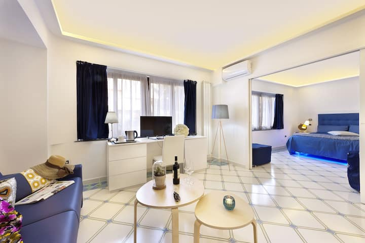 Suite with five beds - B&B Sorrento Central