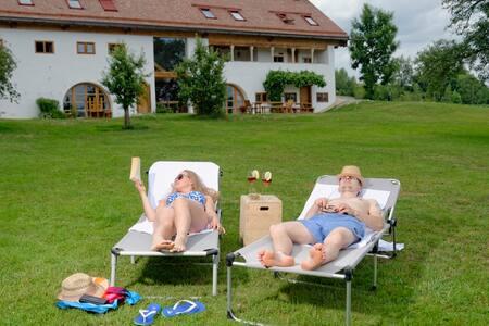 Hagerhof Chiemsee Ferienwohnung Schmiede