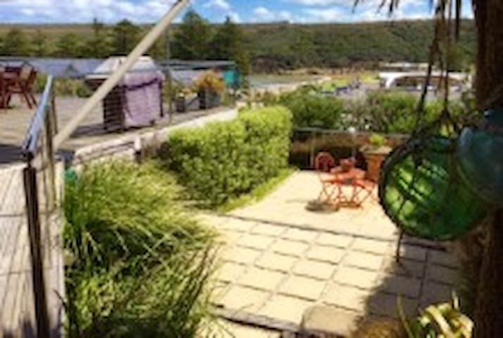 Garden for guests use