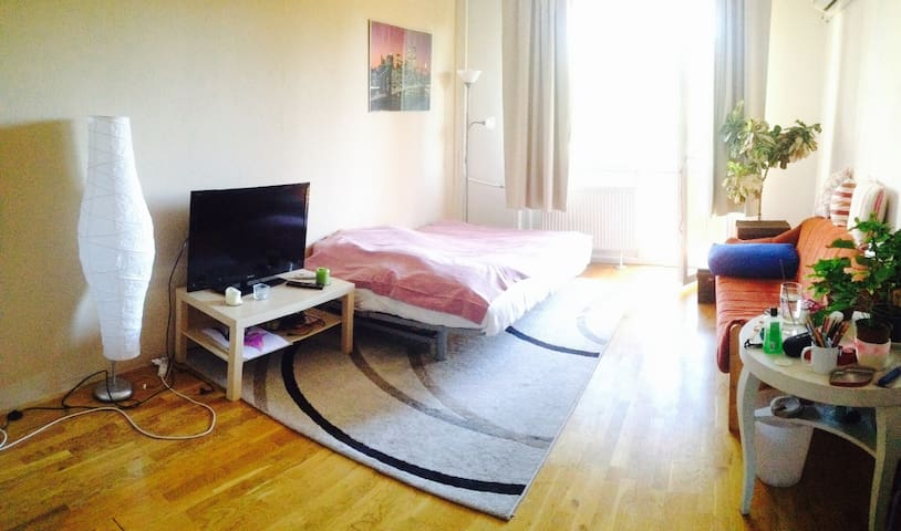 2-room apartment with balcony and park view - Budapest - Leilighet