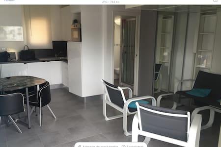 Manifique studio sur la plage - St-Laurent-du-Var - Appartement