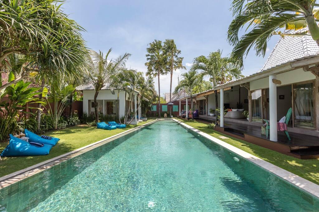 sparkle pool 17 meters lenght